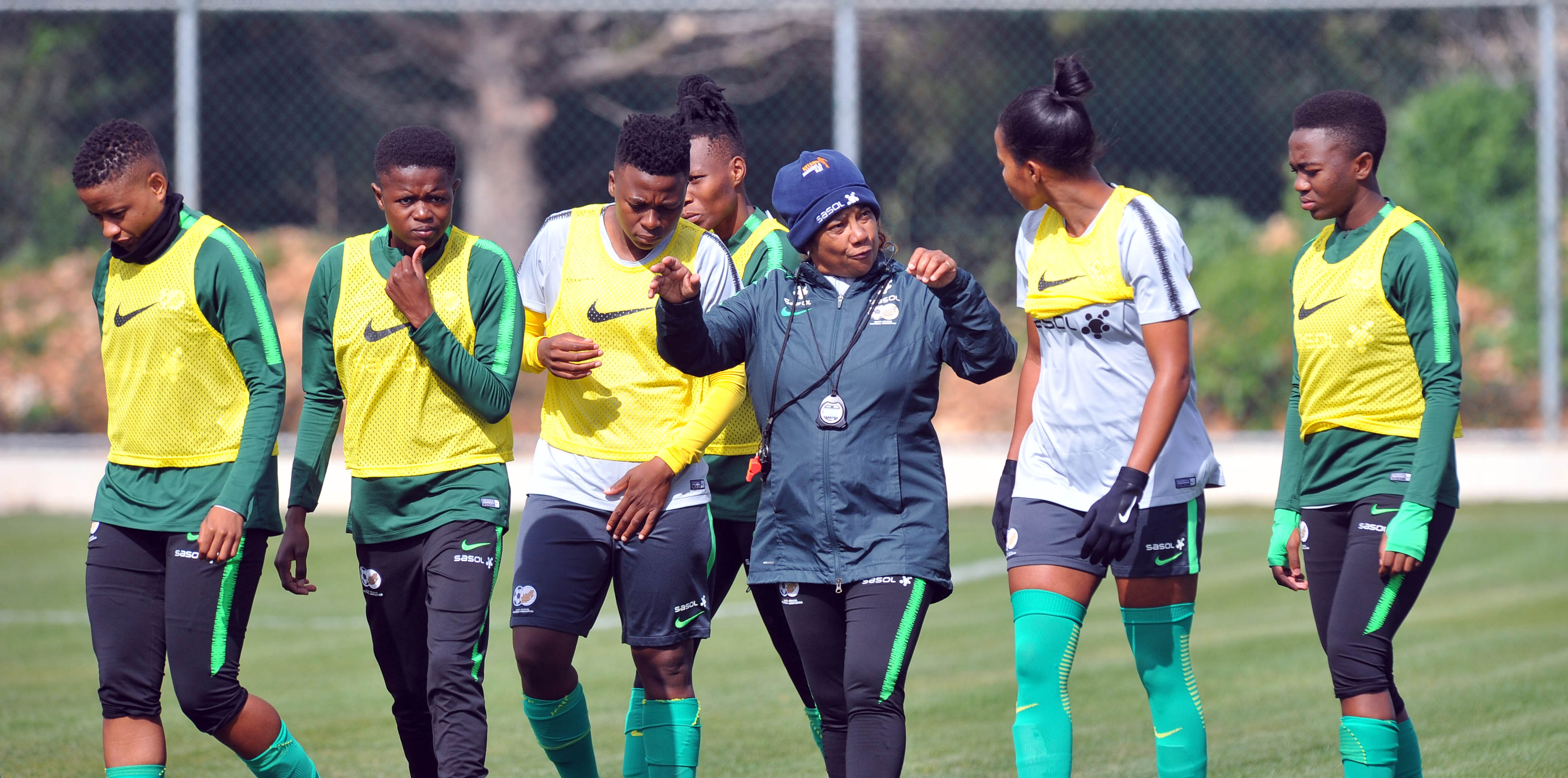 Desiree Ellis coach of South Africa