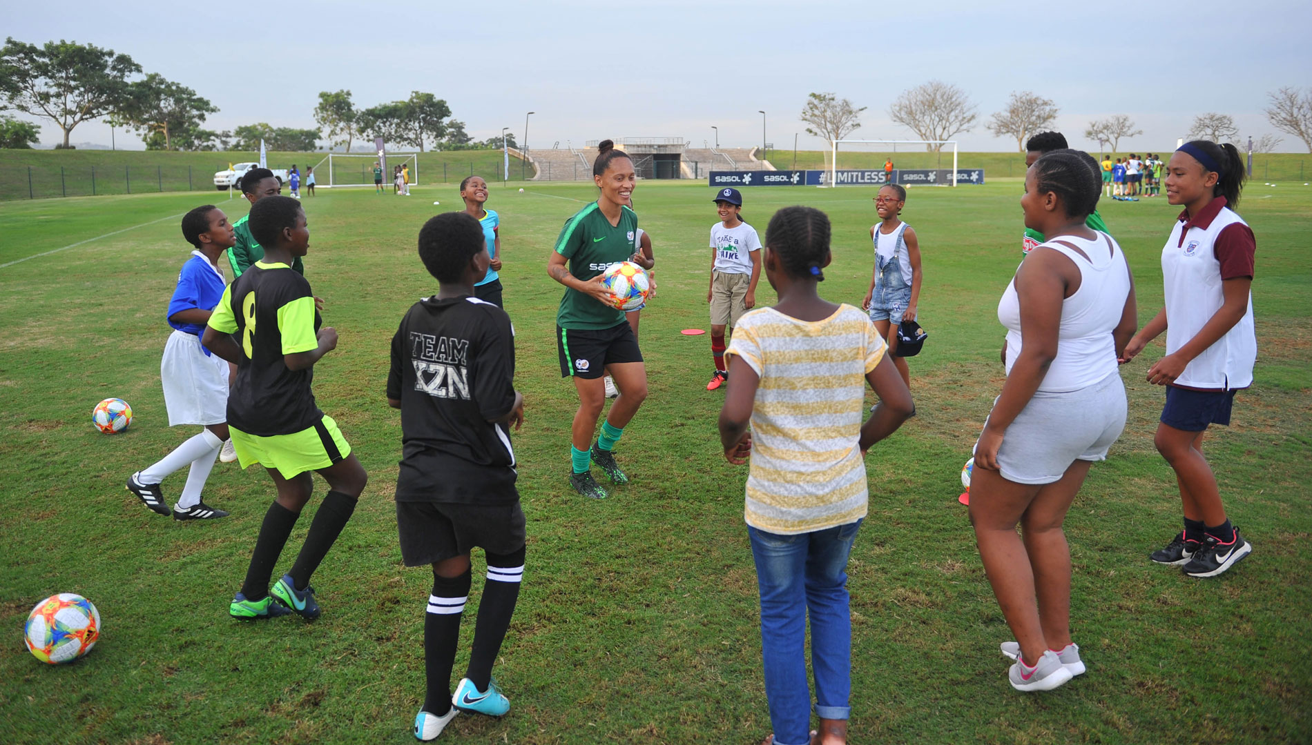 Banyana Banyana coaching clinic, Limitless