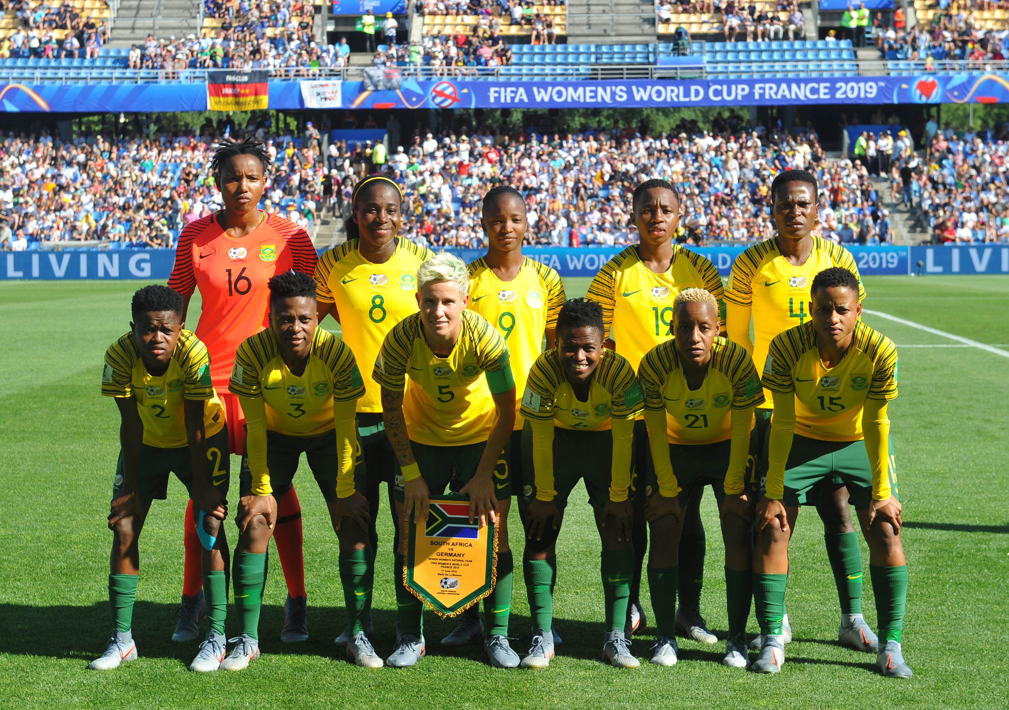 Banyana Banyana vs Germany FIFA WC 2019