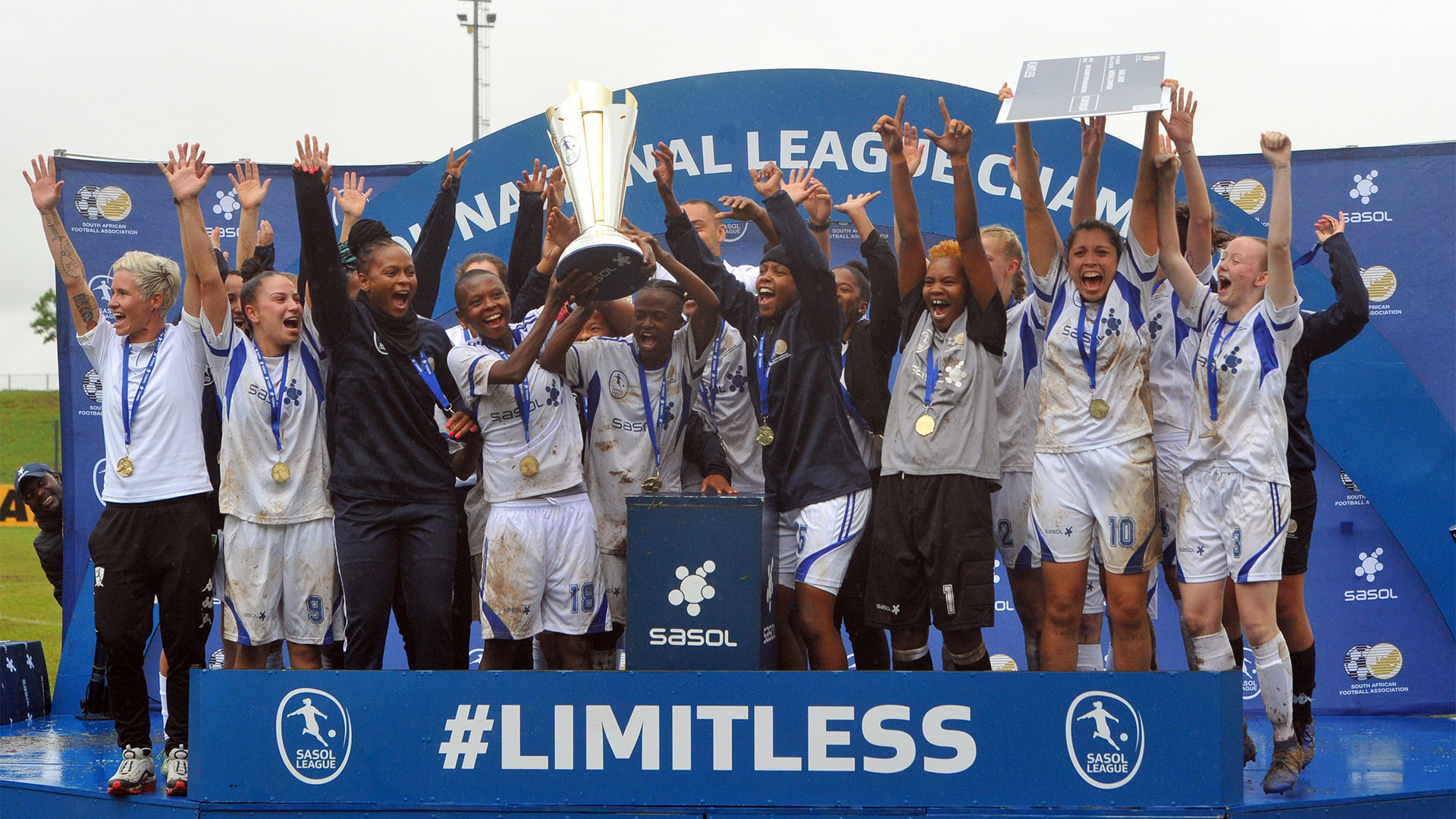JVW, winners of the Sasol League championships