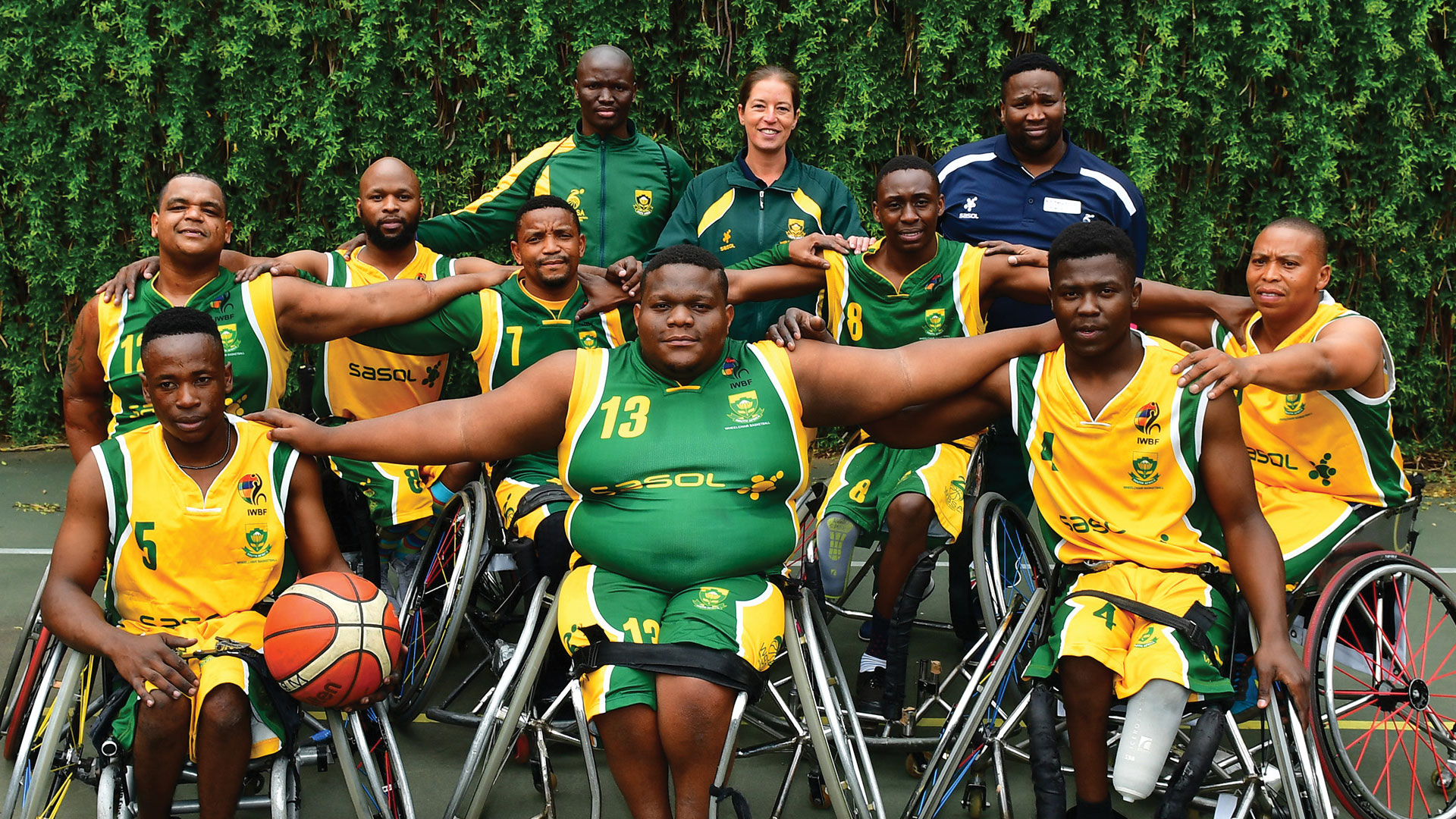 Sasol Amawheela Boys team